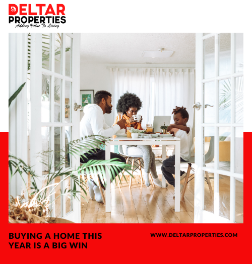 Reasons Why Buying a Home This Year is a Big Win
